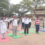 J S College Yoga Day 1