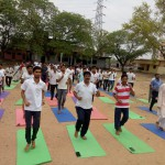 J S College Yoga Day