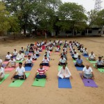 J S College Yoga Day 3